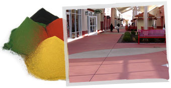 Decorative Concrete Colors