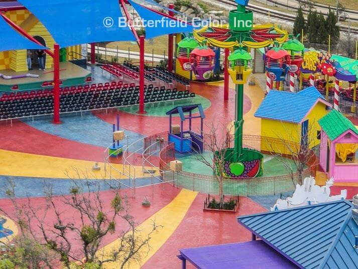 Wiggles World At Six Flags Butterfield Color 174