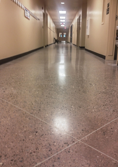 Missouri Avenue Elementary concrete