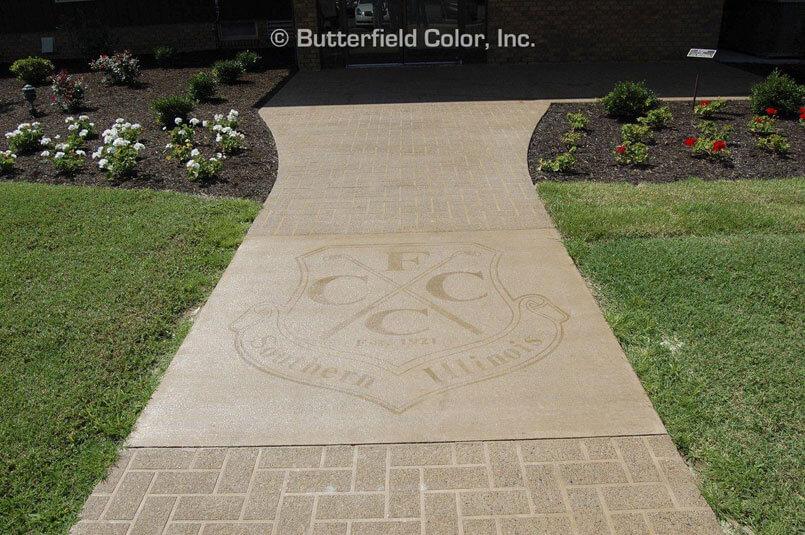 Custom Logo concrete Stencils