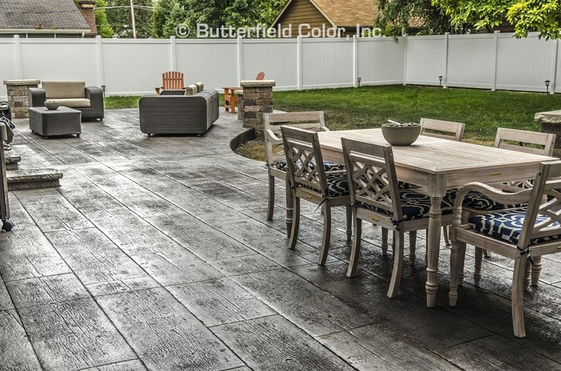 grey wood concrete