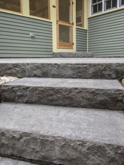 decorative concrete step