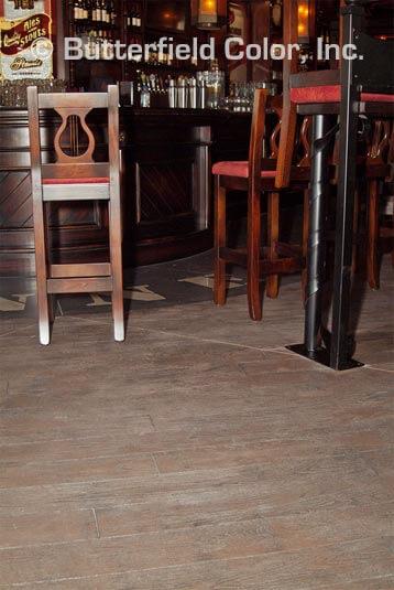 restaurant concrete flooring