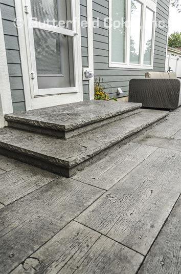wood plank concrete