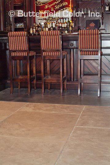 commercial concrete flooring wood
