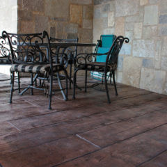 128243 Wood Plank Stamp Patio