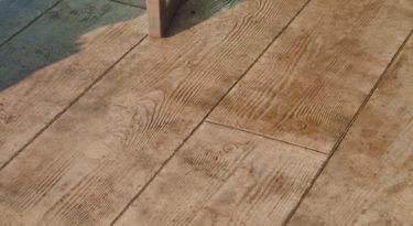 128243 Wood Plank Stamp Sample