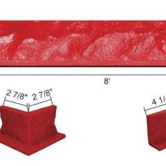 2-inch-Cantilevered-Cut-Stone-Form-Liner-Specs