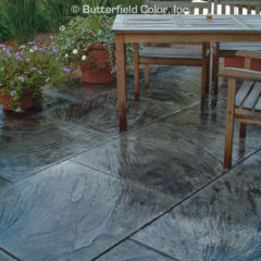 3 x 3 Slate Stamp Patio
