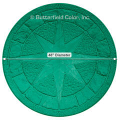 488243 Compass Rose Stamp with Specs