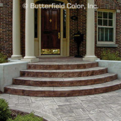 Ashlar Slate Stamp Residential Entrance
