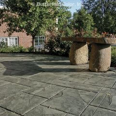 Ashlar Slate Stamp Church Patio