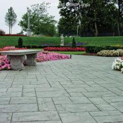 Ashlar Slate Stamp Garden Walkway