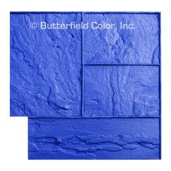 Ashlar Slate Blue Stamp