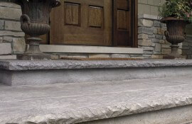 Cantilevered Cut Stone Step Liner  2 1-2