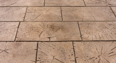Wood Paver Cobble Stamp Sample
