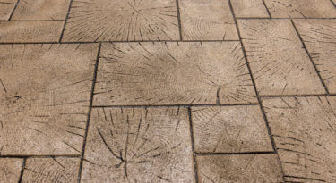 Wood Paver Ashlar Stamp Sample