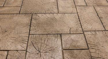 Wood Paver Ashlar Stamp Sample
