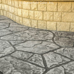 Appalachian Flagstone Stamp Patio