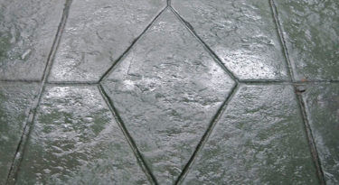 Diamond Tile Stamp Sample