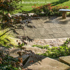 Ashlar Slate Stamp Patio
