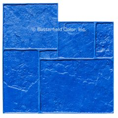 English Rivenstone Blue Stamp