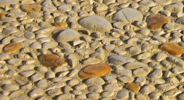Pebblestone Texture Stamp Sample