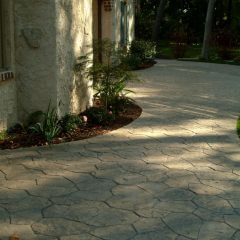 Fieldstone Stamp Patio