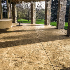 Heavy Stone Texture Stamp Patio