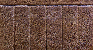 Sample Infield Coarse Stone Texture Stamp Sample Border Large Brick Soldier Course Stamp