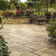 Majestic Ashlar Stamp Patio