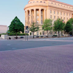 Pennsylvania Avenue Brick Running Bond Stamp Crosswalk