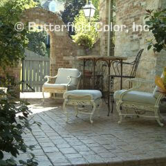 Mayan Cobblestone Stamp Patio