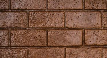 New Brick Running Bond Stamp Sample