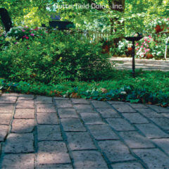 Old Chicago Running Bond Brick Stamp Patio