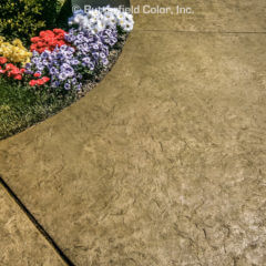 Chiseled Slate Texture Stamp Driveway