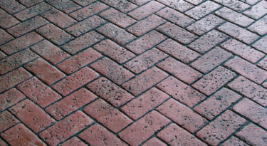 Pennsylvania Avenue Herringbone Brick Stamp Sample