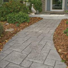 Tetra Stone Stamp Walkway