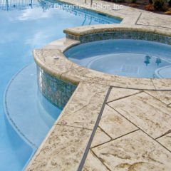 Majestic Ashlar Stamp Pool Deck
