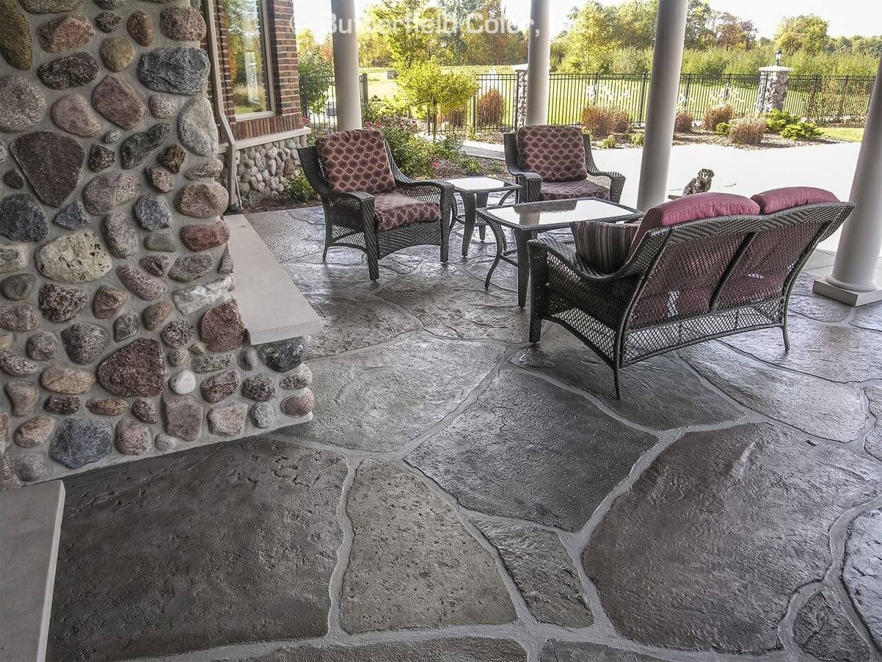 concrete overlay patio