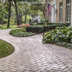 Driveway Infield Pennsylvania Avenue Herringbone Brick Stamp Driveway Border Pennsylvania Avenue Soldier Curve Stamp