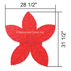 Arbor Leaf Cluster Stamp with Specs