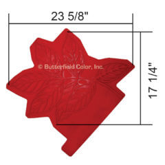 Ash Leaf Cluster Stamp with Specs