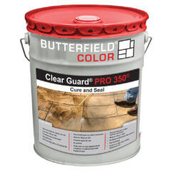 Clear Guard PRO 350 Cure and Seal Packaging