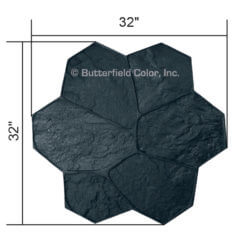 Fieldstone Black Stamp with Specs