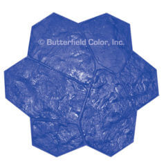 Fieldstone Blue Stamp