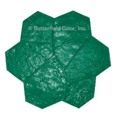 Fieldstone Green Stamp