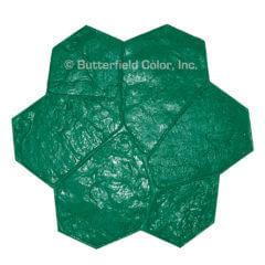 Fieldstone Green Stamp