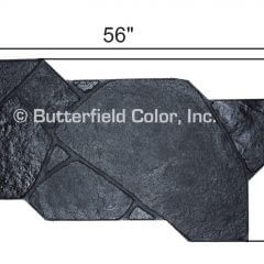 Fox Valley Flagstone Black Stamp with Specs