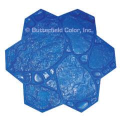 Garden Path Blue Stamp